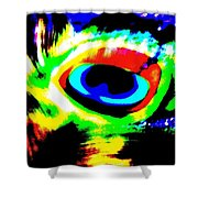 Illusion Of Colors Shower Curtain