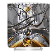 Illusions Abstract Shower Curtain