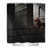 Illusions Of Grandeur Shower Curtain