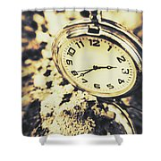 Illusive Time Shower Curtain