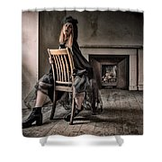 Ilona's Attic Shower Curtain