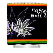 I'm Crazy In Love With Mary Jane Shower Curtain