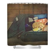 I'm Going With You Shower Curtain by Laurie Search