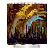 I'm Gonna Get You  8158 Shower Curtain