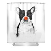 I'm Not Your Clown Shower Curtain