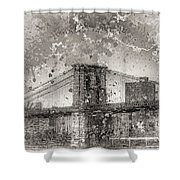 Im Selling The Brooklyn Bridge Or At Least A Photo Of It  Shower Curtain