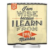 I'm Wise Shower Curtain