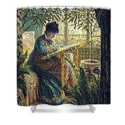 Image 348 Claude Oscar Monet Shower Curtain