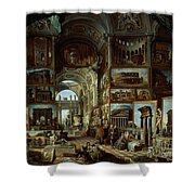 Imaginary Gallery Of Views Of Ancient Rome Shower Curtain