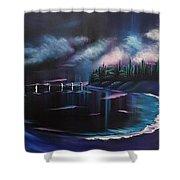 Imaginary Sea  Shower Curtain