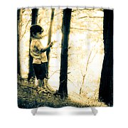 Imagination And Adventure Shower Curtain by Bob Orsillo