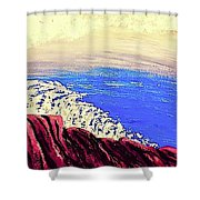 Imagination Ocean View  Shower Curtain