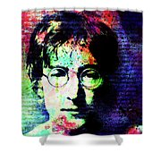 Imagination Of A Song Man Shower Curtain