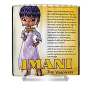 Imani, The Visionary Shower Curtain