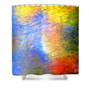 Imerging From Darkness To Lights Shower Curtain