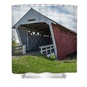 Imes Covered Bridge 2 Shower Curtain