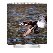 Img_0001 - Ring Neck Shower Curtain
