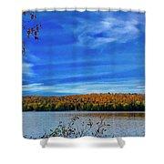 Img_1799.jpg Portage Lake Maine Shower Curtain