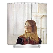 img617 Andrew Wyeth Shower Curtain