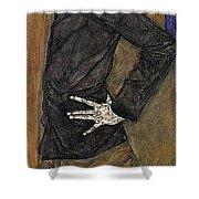 img804 Egon Schiele Shower Curtain