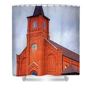 Immaculate Conception Catholic Church Shower Curtain