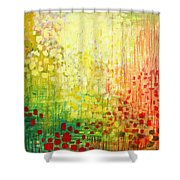 Immersed No 2 Shower Curtain