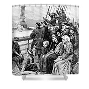 Immigrant Ship Shower Curtain