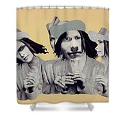 Immitation Shower Curtain