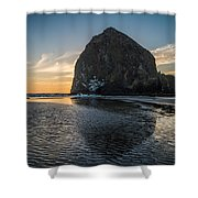 Immovable Object Shower Curtain