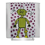 Immunization Shower Curtain
