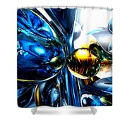 Impassioned Abstract Shower Curtain
