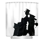 Impasto 1 Shower Curtain