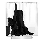 Impasto 2 Shower Curtain
