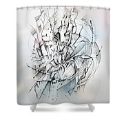 Impel Shower Curtain