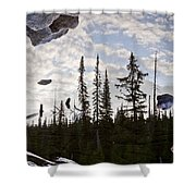 Impending Doom Shower Curtain