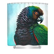 Imperial Parrot Shower Curtain
