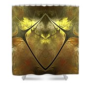 Imperial Topaz Shower Curtain