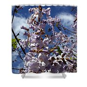 Imperial Tree Flowers Shower Curtain