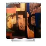 Import Andromeda Shower Curtain