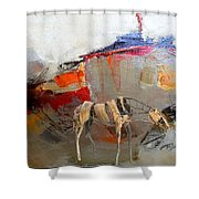 Impression 2 Shower Curtain