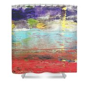 Impression Collection I In Sight Of Land  Shower Curtain