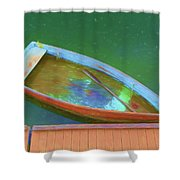 Impression Of A Dinghy Shower Curtain