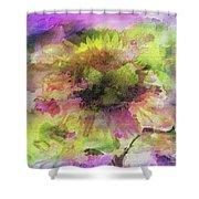 Impression Sunflower Shower Curtain