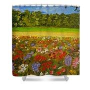 Impressionism Flowers- Pretty Posies Shower Curtain