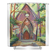 Impressionist Cooper Chapel Shower Curtain