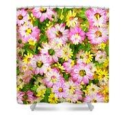 Impressionist Floral Ix Shower Curtain