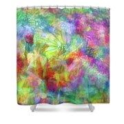 Impressionist Floral Xxxii Shower Curtain