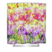Impressionist Floral Xxxiv Shower Curtain