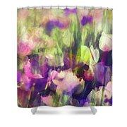 Impressionist Floral Xxxvi Shower Curtain