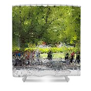 Impressionist Series #2 Shower Curtain
